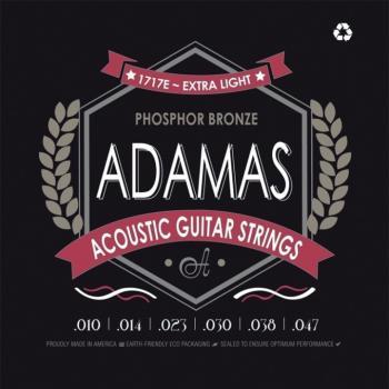 Adamas 1717E Extra Light Acoustic Guitar Strings (AD-1717E)