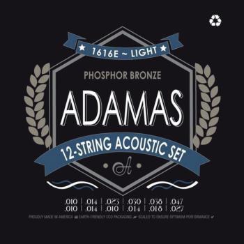 Adamas 1616E 12 String Acoustic Guitar Strings (AD-1616E)