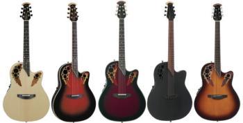 Custom Elite C2078 AX Deep Contour Acoustic-Electric Guitar  (OV-C2078AX)